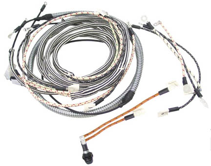 farmall tractor wiring harness from restoration supply ... farmall cub wiring harness