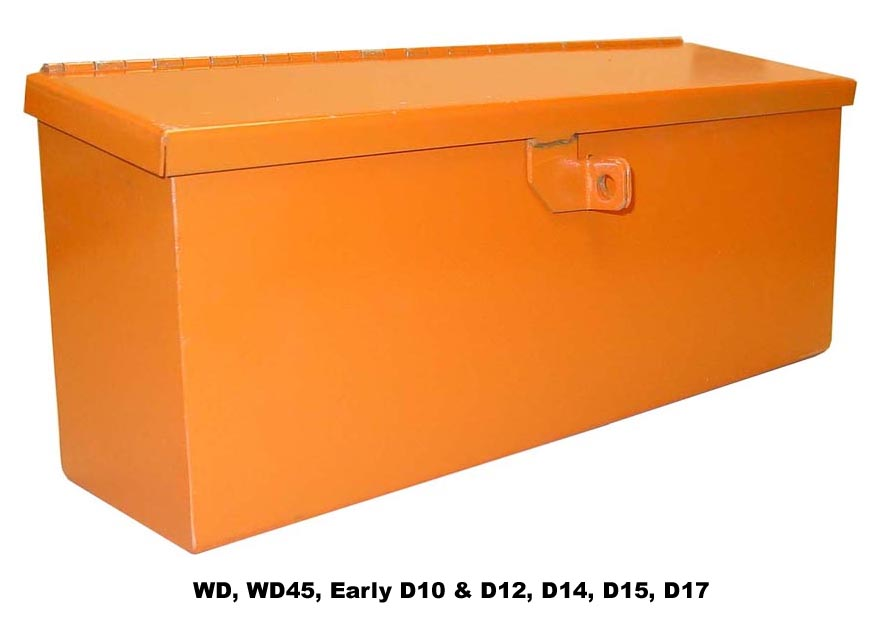 Tool Box For Tractor : Tractor parts allis chalmers tool boxes from restoration