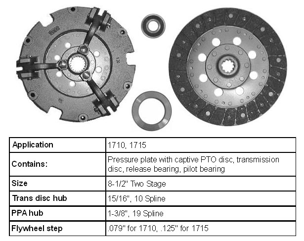 Ford 1710 Tractor Parts Breakdown : Ford tractor clutch parts bing images