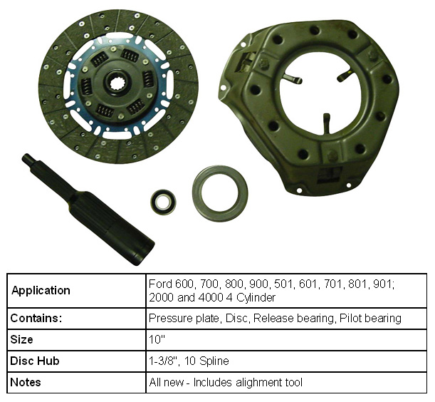 8n Ford Tractor Clutch Stuck : Ford n tractor clutch replacement