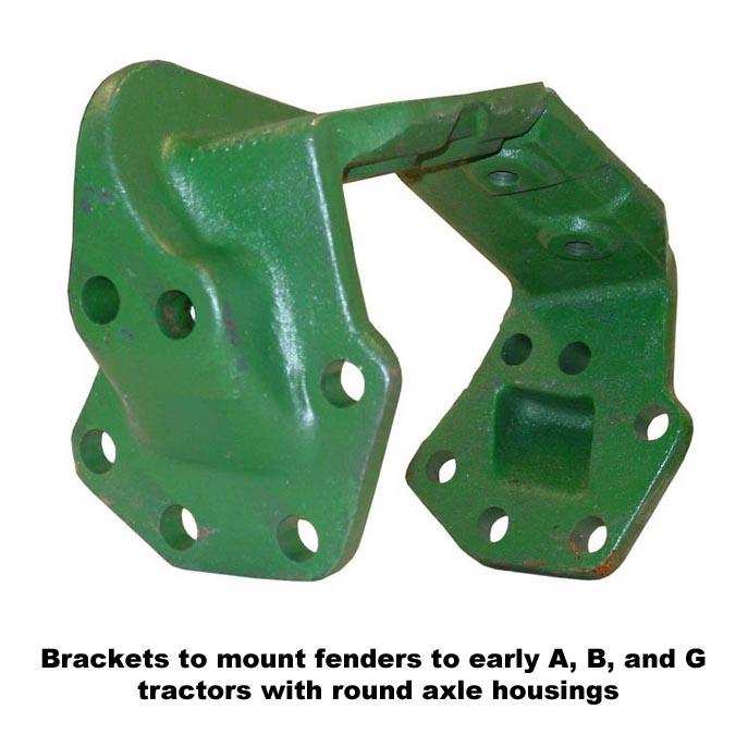 John Deere 60 Fenders : John deere clam shell fenders order on line