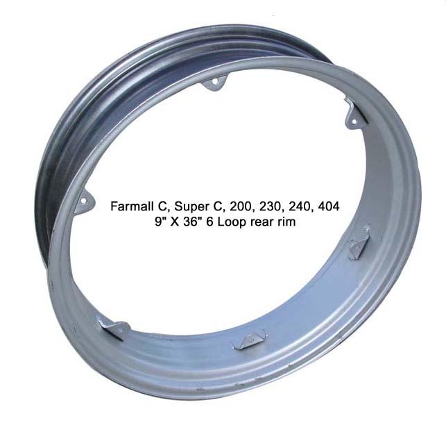 Farmall Rear Rims : Farmall wheels and rims easy on line ordering